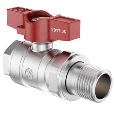 Butterfly Ball Valve with Union FxM, B series