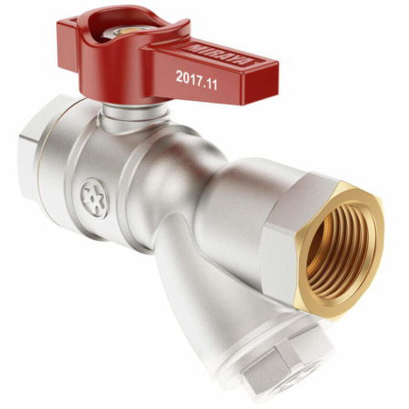 Mini Lever Ball Valve with Filter FxF, B series