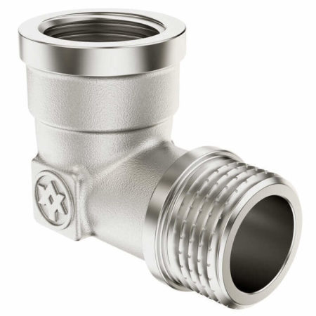Nickel Plated Elbow F/M