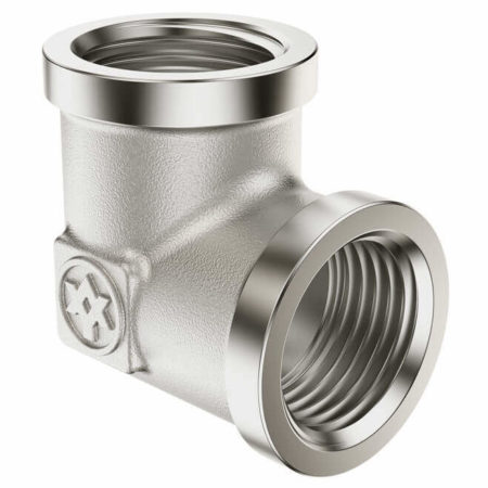 Nickel Plated Elbow F/F