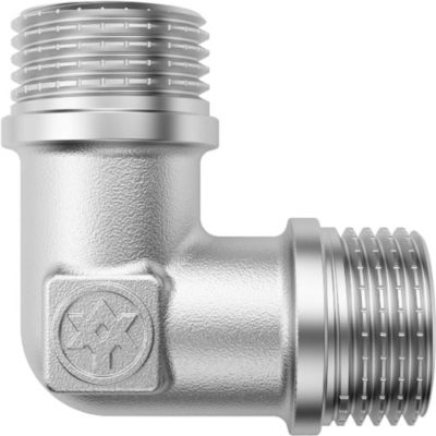 Nickel Plated Elbow M/M