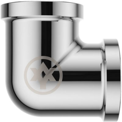 Chrome Plated Elbow F/F